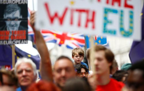 Anti-Brexit Protest: More Than 100,000 Demand Referendum On Brexit Deal