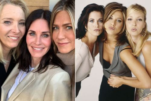 Courteney Cox has sweet reunion with Friends co-stars to celebrate her birthday