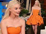 Anya Taylor-Joy opens up about Jell-O wrestling in a Tigger onesie during an episode of Ellen