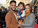 Aston Merrygold and fiancée Sarah Lou become parents for the second time as they welcome baby boy