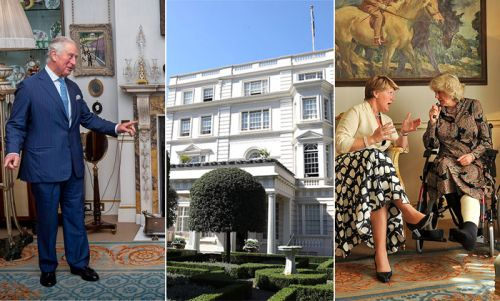 Prince Charles and Duchess Camilla's house where Princess Anne was born - inside