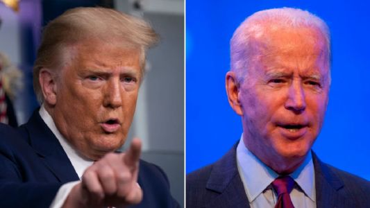 Donald Trump and Joe Biden to face-off for first time tonight in electrifying presidential debate