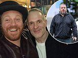 Chris Moyles, 46, is unrecognisable as he displays the results of his five stone weight loss