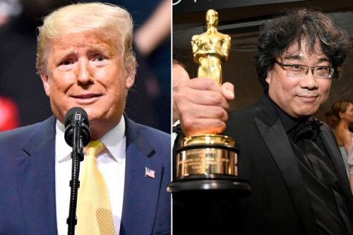Donald Trump mocks South Korean film Parasite's Oscars success despite not seeing it