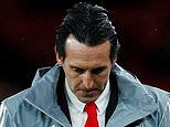 Unai Emery's miserable run that cost him his job as Arsenal manager