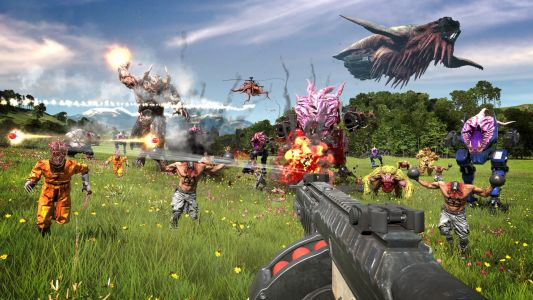 Serious Sam 4 review - good old Uncle Sam