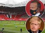 Ed Woodward slams the Government for their lack of 'consistency' over return of fans
