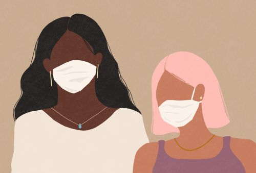 Skin breaking out every time you wear a face mask? Here's how to deal with maskne