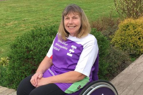 Doctor takes on 16-mile challenge in her wheelchair for spina bifida charity