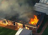 Teenage girl charged after a raging fire caused $1million worth of damage to a Sydney hostel