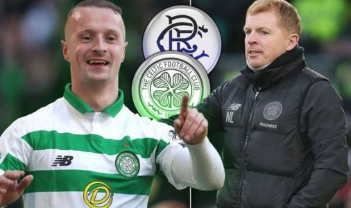 Celtic star Leigh Griffiths reacts to Rangers draw as Neil Lennon's side get 12-point lead