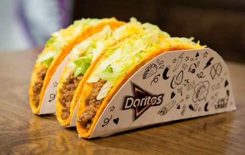Taco Bell brings its Doritos tacos to the UK and is giving them away for free on National Taco Day
