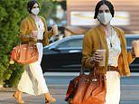 Demi Moore's daughter Scout Willis turns a coffee run into a fashion moment