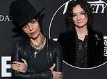 Sara Gilbert and estranged wife Linda Perry have an awkward run-in on the Core Gala red carpet