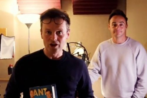 Ant and Dec reunite after months apart with hilarious video