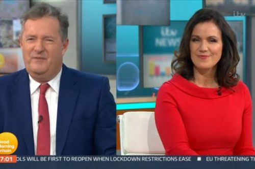 Piers Morgan slams Liz Hurley's topless photoshoot as 'thirsty and creepy'