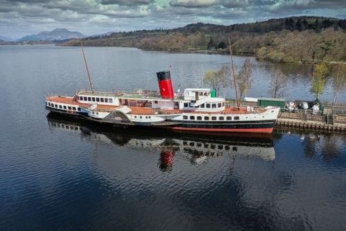 Maid of the Loch's future secured after crowdfunder target is smashed