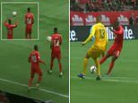 Cardiff winger Junior Hoilett scores crafty Canada goal after throw-in off team-mate's BACK