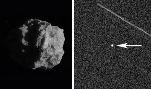 Asteroid SHOCK: 'Potentially hazardous' space rock pictured approaching Earth