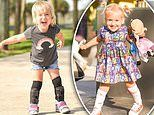Little girl with severe spina bifida defies doctors by learning to walk