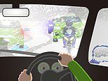 Puzzle tests car owners knowledge of the safety precautions to take while driving in winter