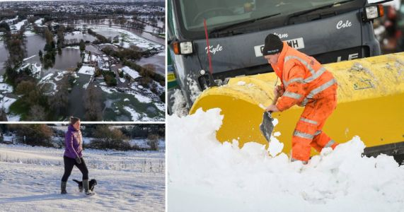 UK bracing for -10°C this weekend as Storm Christoph leaves devastation