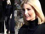 Ivanka Trump flashes a smile as she leaves her home amid impeachment hearings