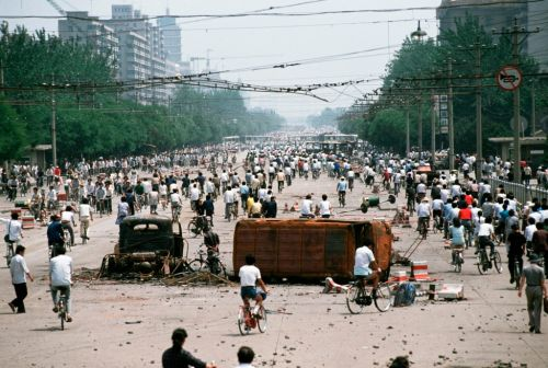 What happened during the 1989 Tiananmen Square protests?