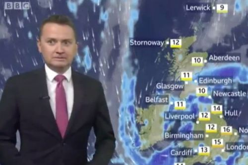 BBC Breakfast viewers in hysterics over weatherman's Rick Astley gaffe