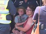 Four-year-old who went missing on rural East Gippsland property after burnt by bushfires was found