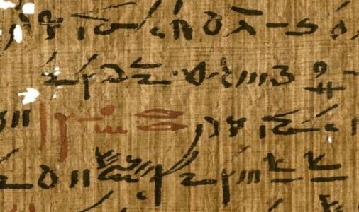 Archaeology news: Ancient texts reveal writing techniques used by ancient Egyptians
