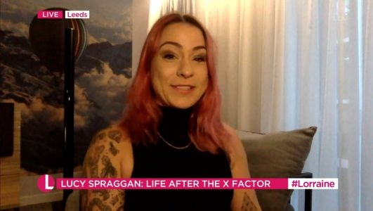 X Factor star Lucy Spraggan reveals transformation as she ditches drinking after marriage breakdown
