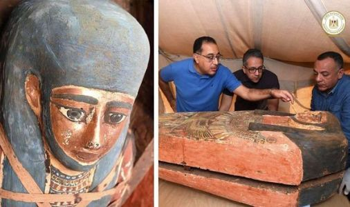 Egypt archaeology: 'Huge number' of sarcophagi 'sealed since ancient times' is unearthed