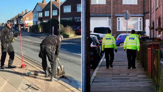 Man, 32, charged with FOUR attempted murders after boy, 10, stabbed in the neck, child hit with car and mum attacked