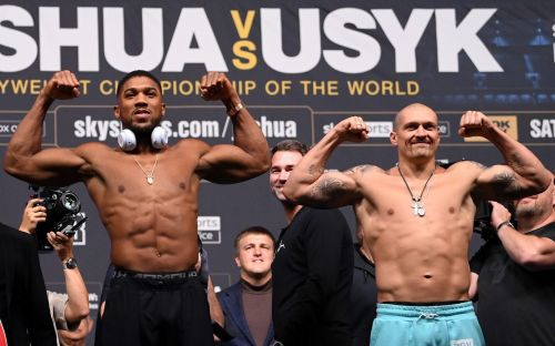 Anthony Joshua is favourite but you can't write off Oleksandr Usyk's brilliance causing an upset