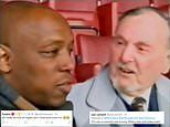 Ian Wright breaks down in tears as he brands teacher Mr Pigden the 'greatest man in the world'