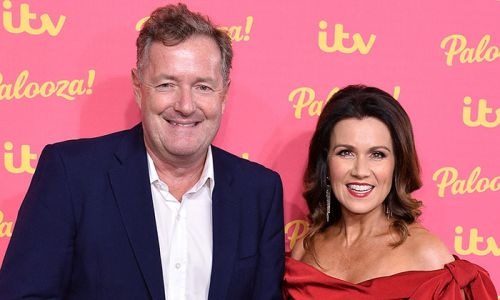 GMB's Piers Morgan and Susanna Reid react to Kate Garraway's husband's coronavirus news