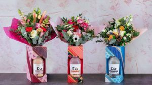 Valentine's Day gin flower bouquets are now a thing and we need one