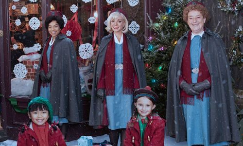 Call the Midwife release the first clip of Christmas special - and fans are thrilled!