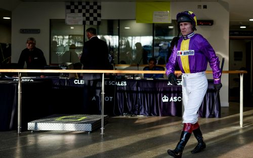 Richard Johnson's title hopes are dashed by broken arm but jockey hopes to be back for Cheltenham
