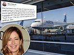 Actress Dana Delaney tweets her plane was delayed after passenger is fired by TEXT from Conde Nast