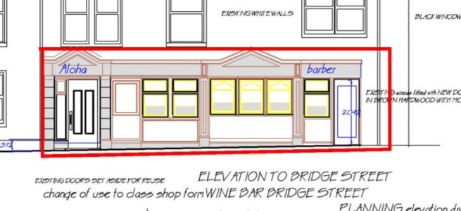 Restaurant to become barbershop in north-east town