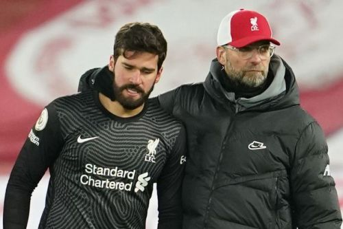 """Klopp's moving, """"most difficult"""" message to Alisson after tragic death of father"""