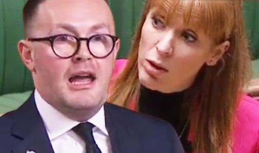 'Did you call me SCUM?' Angela Rayner heckles Tory MP in 'absolutely disgraceful' outburst