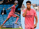 Raphael Varane apologises to team-mates after his two costly errors cost Real Madrid