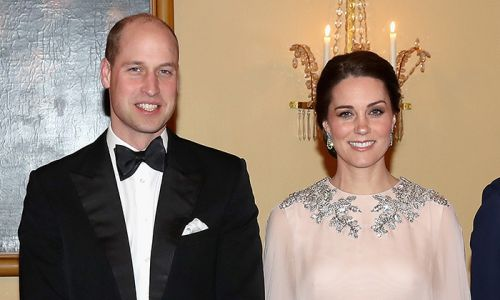 Fans spot picture of Prince William and Kate Middleton in royal office