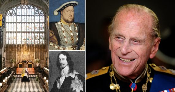Prince Philip joins Tudors and Stuarts in vaults beneath St George's Chapel