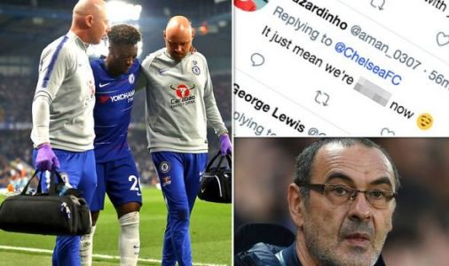 Chelsea fans FEAR the worst following Hudson-Odoi surgery news - 'We're just sh****r now!'