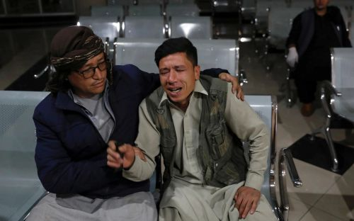 Suicide bombing in Kabul kills at least 18, including children