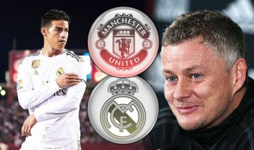 James Rodriguez keen on Man Utd transfer after Real Madrid star rejects Atletico move